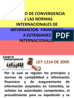 Proceso de Convergencia de Las Normas Internacionales