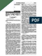 Dejan sin efecto diversas resoluciones jefaturales y delegan facultades en funcionarios del Seguro Integral de Salud (RJ-N°044-2010/SIS)