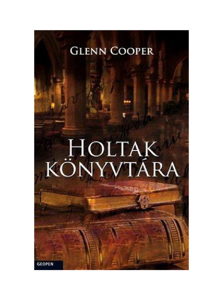 Glenn Cooper - Holtak könyvtára f0f90bde7f