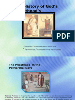 A History of God's Priesthood's