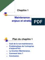 Chap 01 Enjeux et stratégie