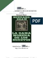 SHAW BERNARD - La Dama Morena de Los Sonetos