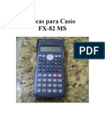 Tutorial Casio Fx82ms