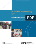 IFC Mobile Money Study 2011 - Summary Report