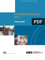 IFC Mobile Money Study 2011 - Thailand