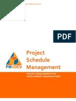15264098 PM4DEV Project Schedule Management