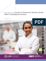 Strengthening Access to Finance for Women-Owned SMEs in Developing Countries