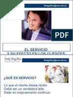 El Servicio y Su Efecto en Los Clientes