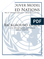 Child Soldiers in Armed Conflict - Social, Cultural and Humanitarian Affairs Committee