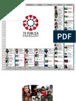 Programación de la TV Pública de Paraguay