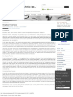 Dropbox Forensics « Forensic Focus_ Articles _ Papers
