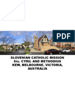 Slovenian Catholic Mission Kew, Melbourne 15 Nov 2009