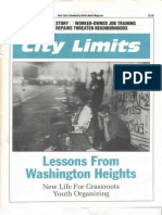 City Limits Magazine, August/September 1992 Issue