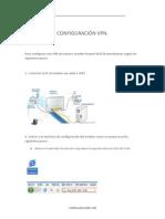 CONFIGURACIÓN VPN
