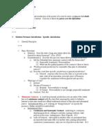 Student Outline Samples 2008