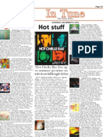Life in a Blender 4 Star Review! IN TUNE, The Daily NEWS, PA