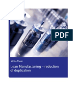 White Paper Lean Pharma Manufacturing