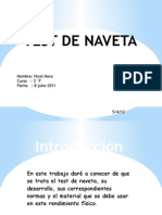 Test de Naveta