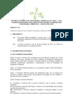 Edital Eleitoral CAEA 2012