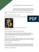 Guru Sri Dattatreya Teachings