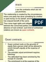 Quasi Contracts (6)