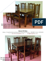 1.Dining Tables Indian Furniture