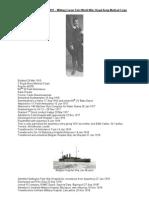 Frederick Callan b 1897 Military Career First World War RAMC