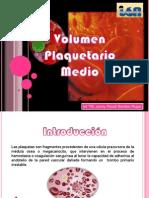 volumen plaquetario medio