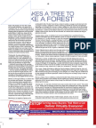 It Takes A Tree To Make A Forest (AutoSuccess Magazine Nov 2011)
