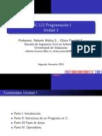 Programacion en C unidad 01 capitulos 1 y 2