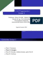 Programacion en C unidad 03 capitulos 2 y 3