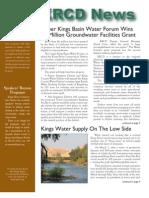 Spring 2008 Kings River Conservation District Newsletter