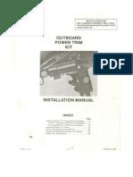 Mercury Outboard Tilt Manual