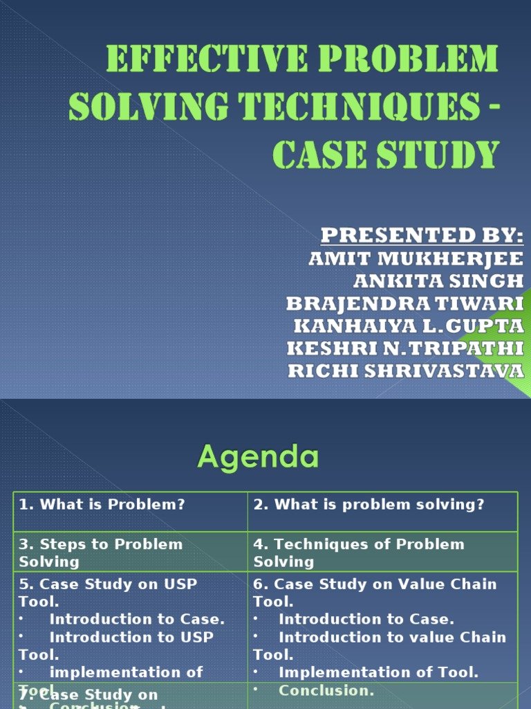 Case Study Solving Techniques | Swot Analysis | Learning