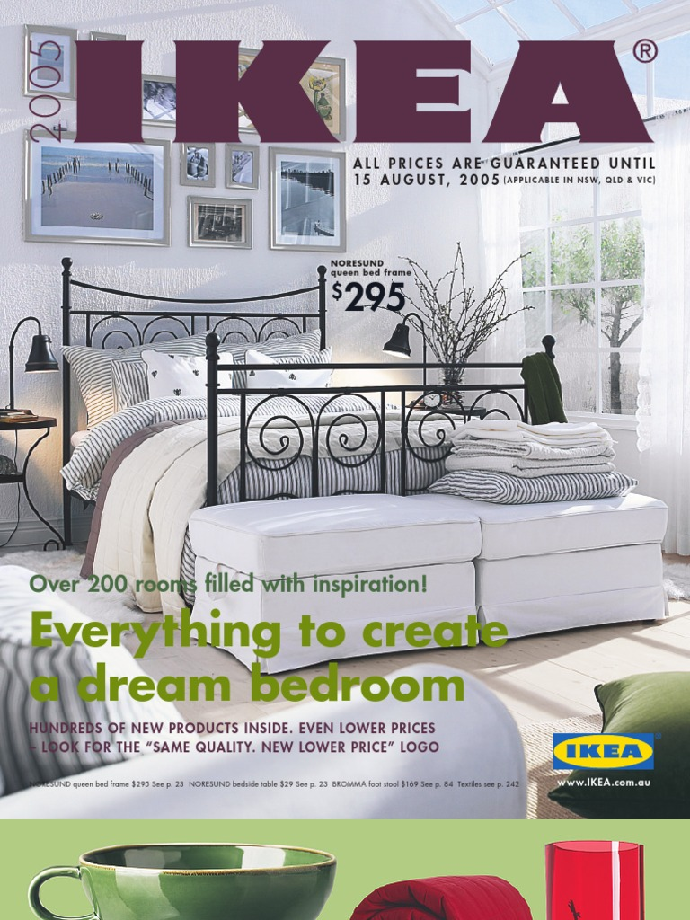 Ikea 2005 Catalouge Mattress Bedding Free 30 Day Trial Scribd