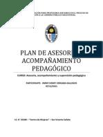 PLAN DE ASESORÍA Y ACOMPAÑAMIENTO PEDAGÓGICO-UNE 2011