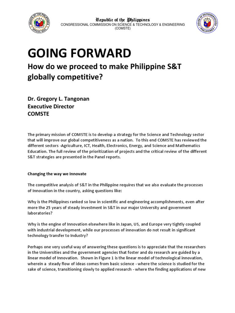 Comste Report 2010 | Agriculture | Philippines