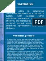 Validation and Validation Protocol
