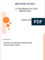 22102141 Method Study as a Technique of Cost Reduction