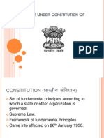 Types of List Under Constitution of India