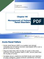 NCM Renal Disorders