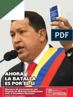 Ahora la batalla es por el Sí -Proyecto Reforma Constitucional Venezuela-