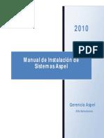 Manual de Instalacion de Sistemas Aspel