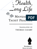 Cleary, sex Health, And Long Life. Manuals of Taoist Practice