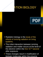 Radiation Biology Lecture