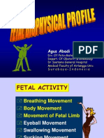 Fetal Biophysical Profile