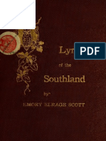 Emory Elrage Scott--Lyrics of the Southland (1913)