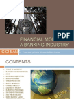 Financial Model of a Banking Industry- Itt