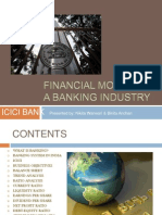Financial Model of a Banking Industry- Itt