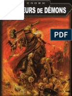 Warhammer 40K -FR- Codex Chasseurs de Démons